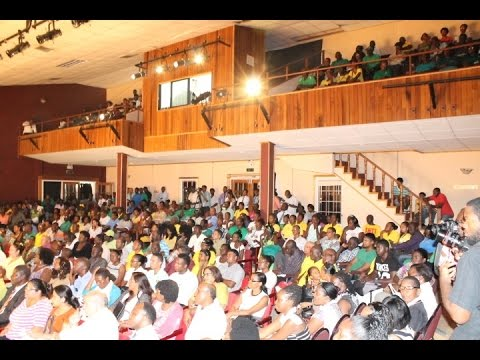 Guyana's opposition  candidate session