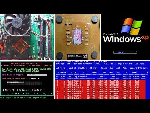 Тесты и патчи BIOS, разгон Athlon XP (№2) [Запись]