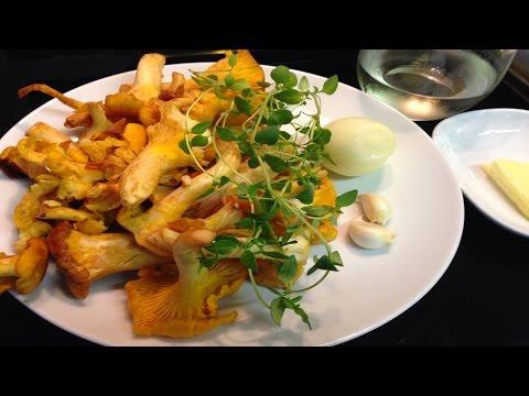 Жареные Грибы Лисички по-итальянски. Постный, вегетарианский рецепт. без регистрации и смс