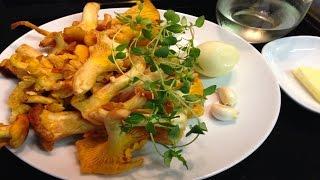 Жареные Грибы Лисички по-итальянски. Постный, вегетарианский рецепт.