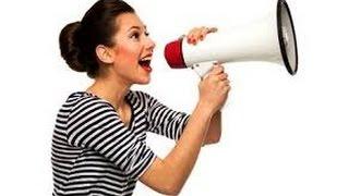 Как поставить голос самостоятельно в домашних условиях. Как научиться красиво говорить.