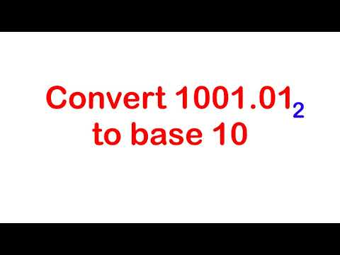 Converting From Base Two To Base Ten | Number Base System | A Viral Math Video