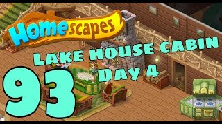 HOMESCAPES - Gameplay Walkthrough Part 93 - New Lake Cabin Day 4