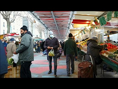 Marché Barbès - Barbès Market - Paris Walking Tour