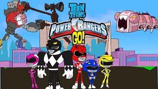 Teen titans Power Rangers Go-Bowser12345