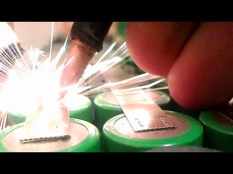 Как варит моя временно-постоянная 12В точечная сварка на 500А реле и Arduino Nano V3
