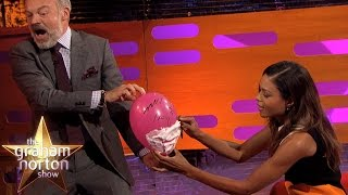 Naomie Harris Re-enacts Her Sexy Bond Shaving Scene - The Graham Norton Show