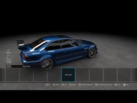 Forza PAINT BUILD BMW M3 E46 EP4