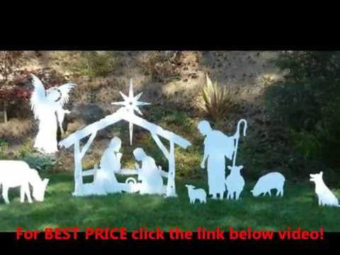 MEDIUM Outdoor Nativity Sets Prices | Outdoor Christmas Decorations|Nativity Sets
