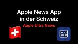 Gambar cover Apple News App in der Schweiz Downloaden