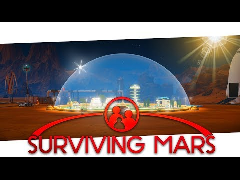 Surviving Mars - Gameplay