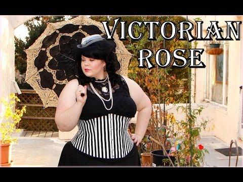 victorian-rose-costume-&-makeup-tutorial