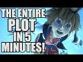 THE ENTIRE KINGDOM HEARTS PLOT IN 5 MINUTES!