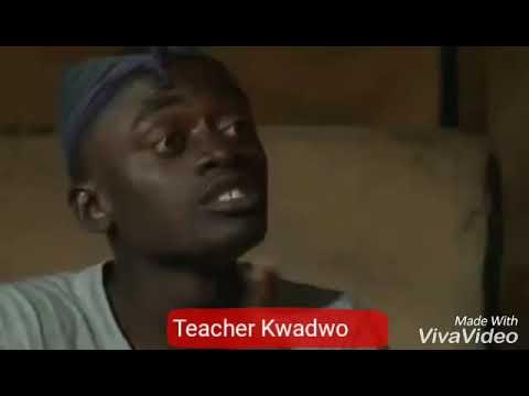 "😂😂😂Teacher Kwadwo introduces online shop ""Adetonfie"" to people"""