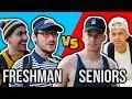 College: Freshman vs Seniors