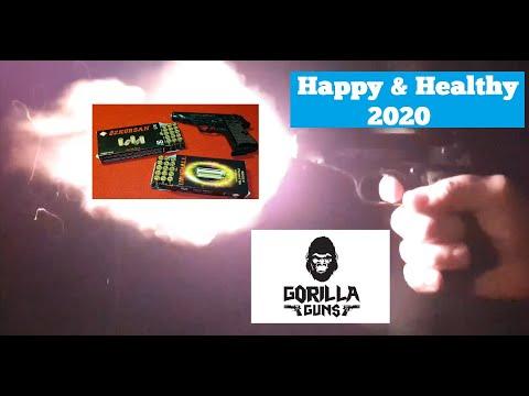 SOF Urknall vs. Özkursan 9mm PAK Schusstest & Happy New Year 2020