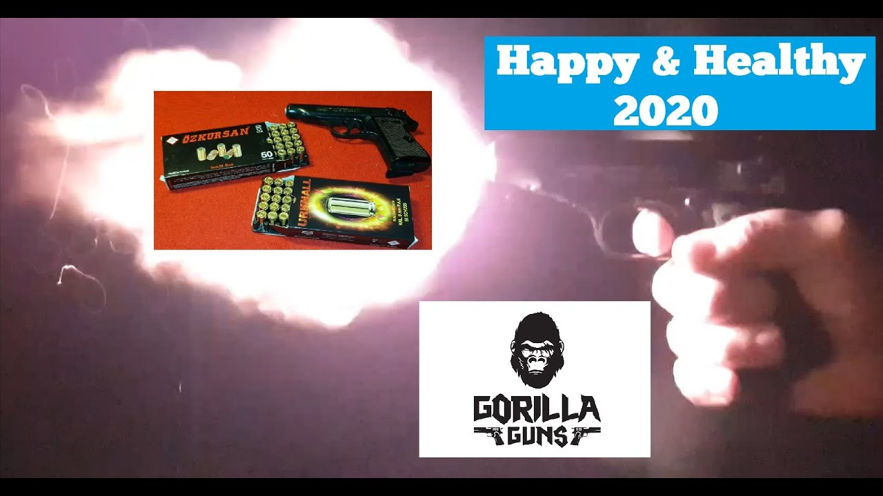 SOF Urknall vs. Özkursan 9mm PAK Schusstest & Happy New Year 2020
