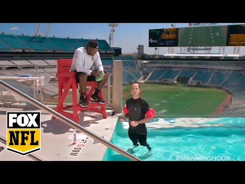 The Jaguars' Pool Was Invaded By Cooper Manning To Open 2016 Season   FOX NFL KICKOFF