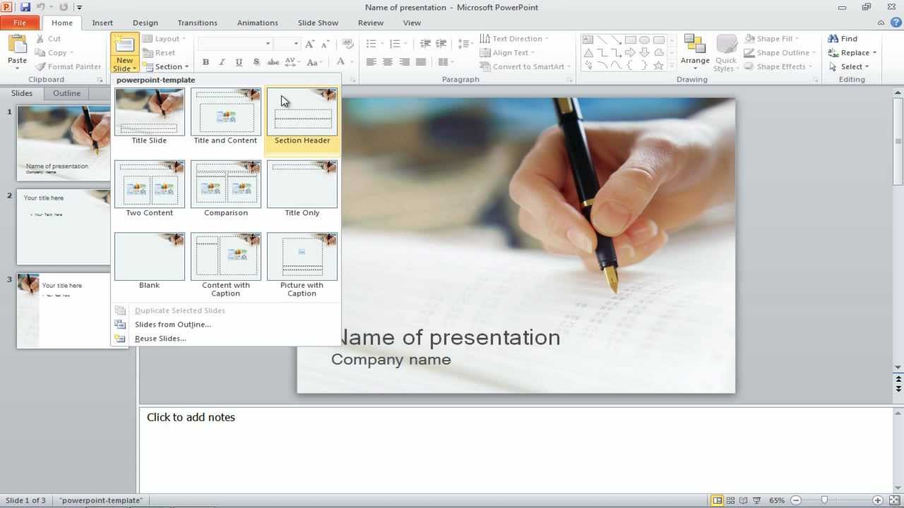 How to separate your PowerPoint slides into