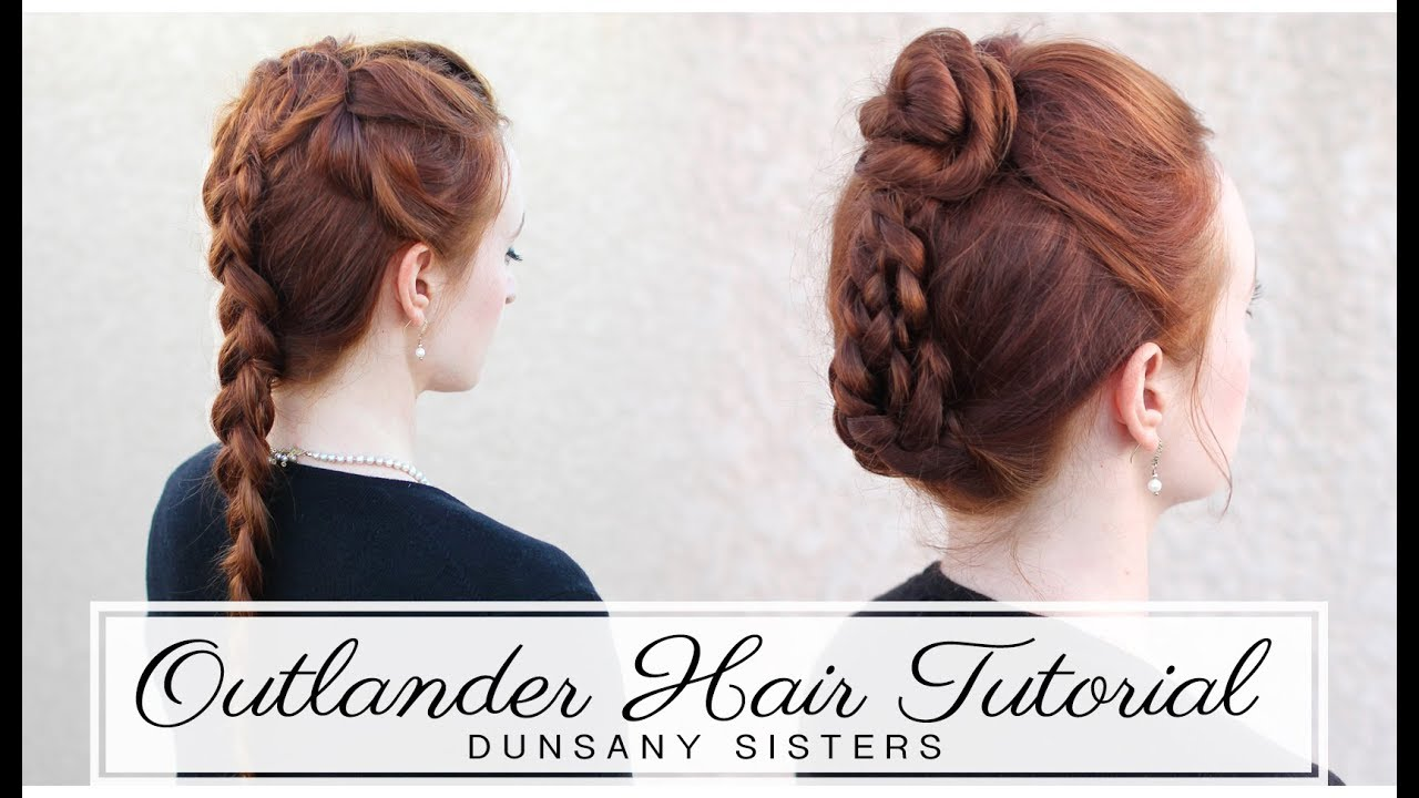 Outlander Hairstyle Tutorial The Dunsany Sisters Geneva Isobel