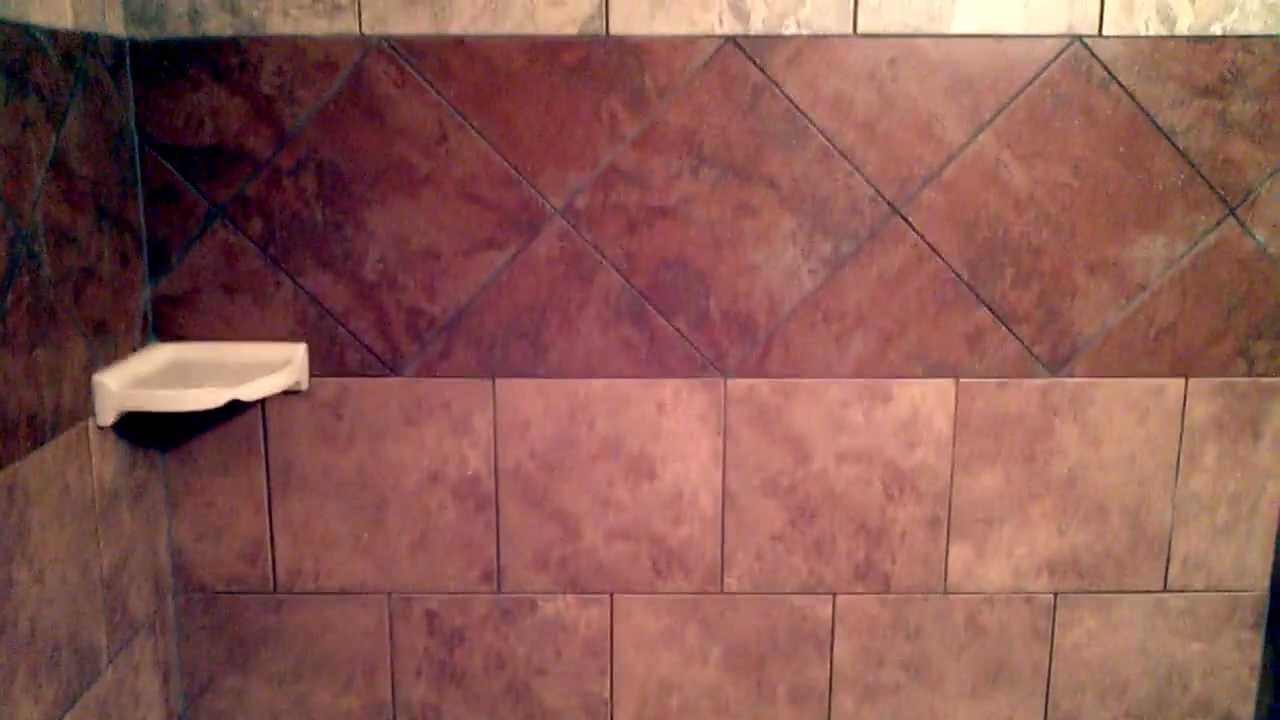 Bathroom Remodel Tile Tub Surround - YouTube