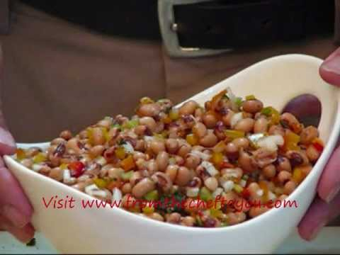 How To Make Blackeyed Pea Salad