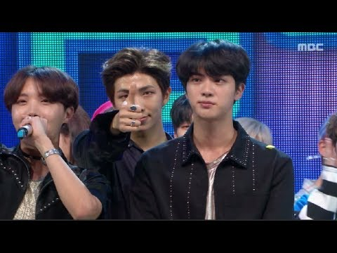[HOT] 5월 4주차 1위 '방탄소년단 - FAKE LOVE (BTS  - FAKE LOVE)' Show Music core 20180526