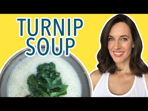 Turnip Soup Cooking Demo: How to Make Vegetable Soup; How to Cook Turnips
