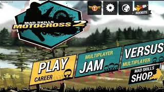 Mad Skills MotoCross 2  (Unlimited Rocket) Android + Link