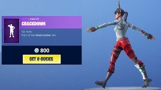 *NEW* CRACKDOWN EMOTE! (Fortnite Item Shop 20th December)