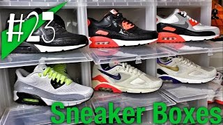 #23 - Sneaker Boxes | Aufbewahrung | Storage | Display - Review - sneakerkult