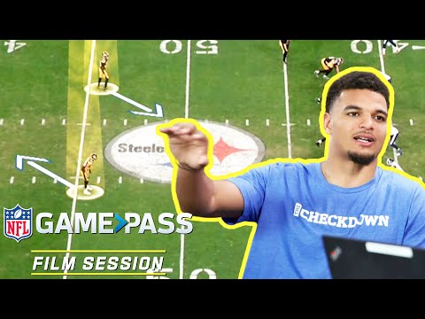 Minkah Fitzpatrick Breaks Down How to Play Mobile QBs, Adjusting to Motion & More   NFL Film Session