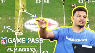 Minkah Fitzpatrick Breaks Down How to Play Mobile QBs, Adjusting to Motion & More | NFL Film Session