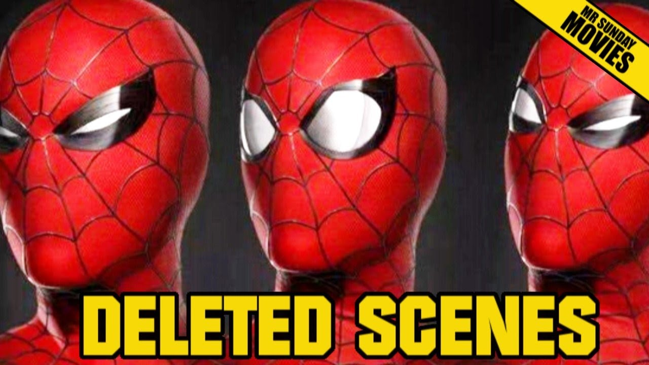 spider man homecoming deleted scenes youtube