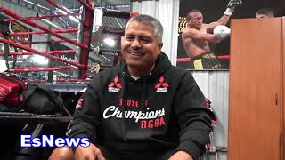 Robert Garcia How People In Michoacán Mexico Reacted When They Saw Him There  EsNews Boxing
