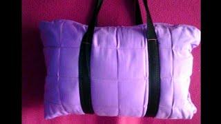 How to make easy travel bag ( Hindi)