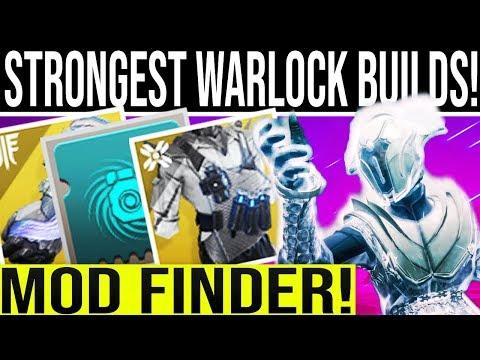 Destiny 2 Shadowkeep. INSANE WARLOCK BUILDS! (2019) Mod Finder!!