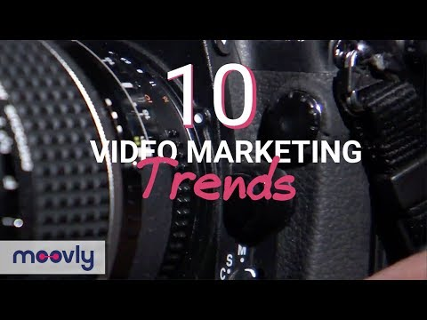 Moovly: 10 Video Marketing Trends of 2018