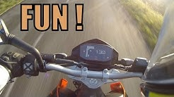 KTM 690 Duke Test Ride