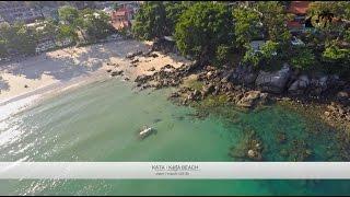 Пляж Ката, Пхукет, Таиланд / Kata Beach, Phuket, Thailand: обзор с дрона(Широкая береговая линия, казауриновые деревья, голубое море - это не всё, что вы найдёте на этом пляже. Пляж..., 2016-04-08T03:53:34.000Z)