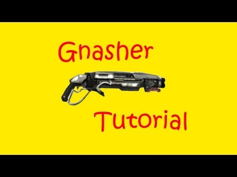 GoW 3 Tips and Tactics - Improving Your Shotgun (Gears of War 3 Gnasher Shotgun Tutorial)