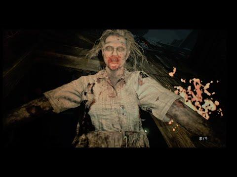 Resident Evil 7 Marguerite Greenhouse Battle Youtube
