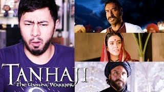 TANHAJI: THE UNSUNG WARRIOR | Ajay Devgn | Saif Ali Khan | Kajol | Trailer Reaction | Jaby Koay