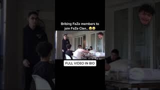I Bribed FaZe Clan Members 😂