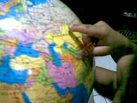 Countries of the World (Globe) by John Matthew(2years old)