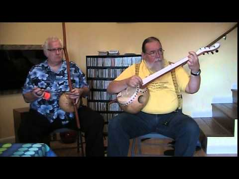 Richard Graham and Ben Seymour on a Menzies Gourd Banjo and Berimbau