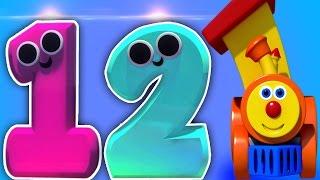 Ben Zug und 'Zahlen in Candyland '   3D-Cartoon für Kinder   Educational Video