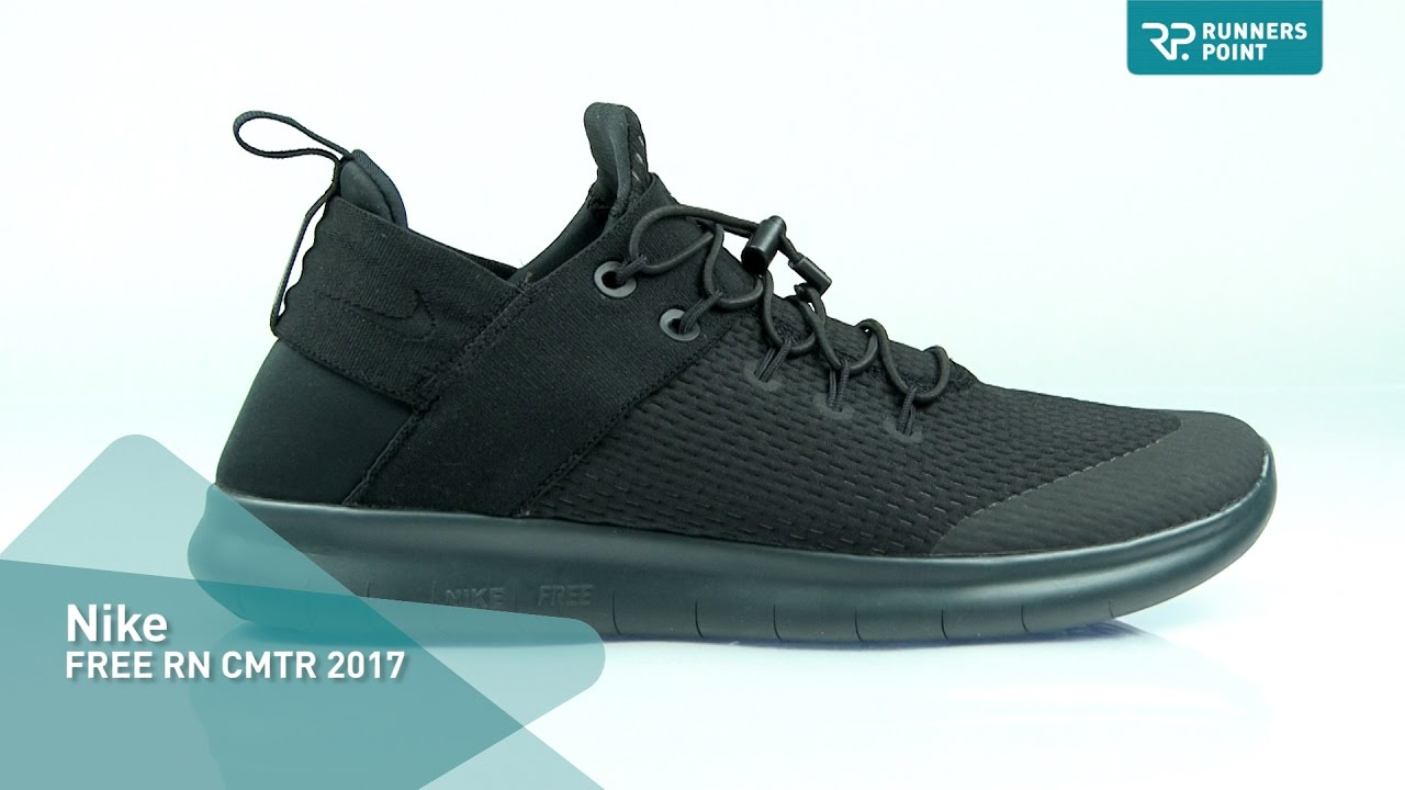nike free rn commuter 2017 black and white