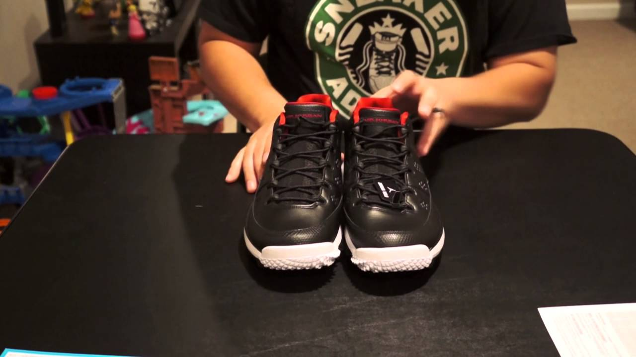 c4b9d3b524ad Nike Air Jordan 9 Golf Shoe Review - YouTube