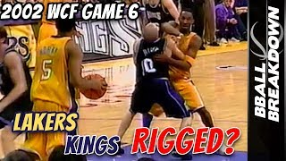 What REALLY Happened In Game 6 Lakers vs Kings 2002 WCF Finals